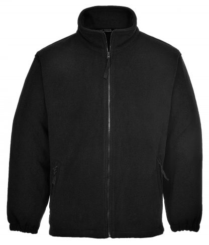 Portwest UF205 Men's Aran Polar Fleece, Black