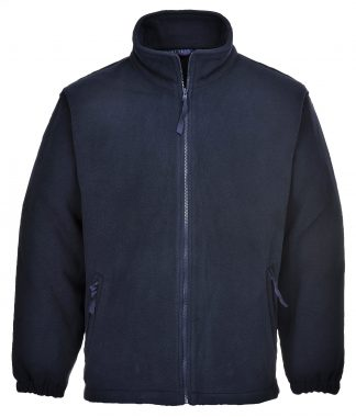 Portwest UF205 Men's Aran Polar Fleece, Navy