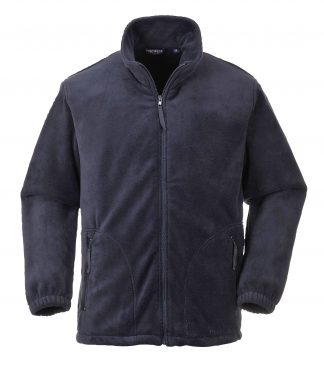 Portwest Heavyweight Fleece Jacket, Navy