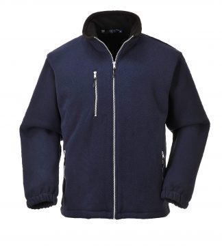 Portwest UF401 Navy Double Sided Fleece Jacket