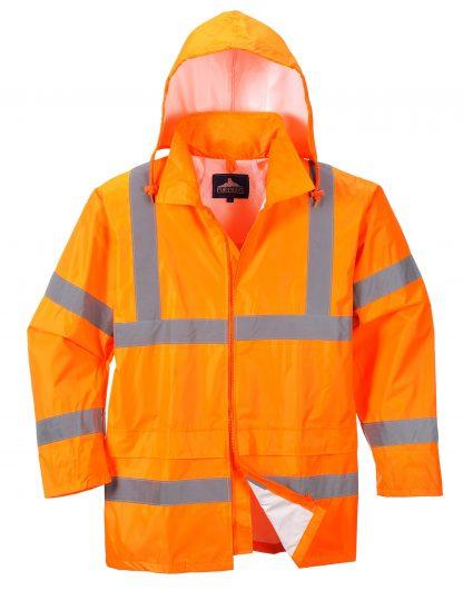 Portwest UF440 High Visibility Rain Jacket, reflecitve, Unisex, Orange main