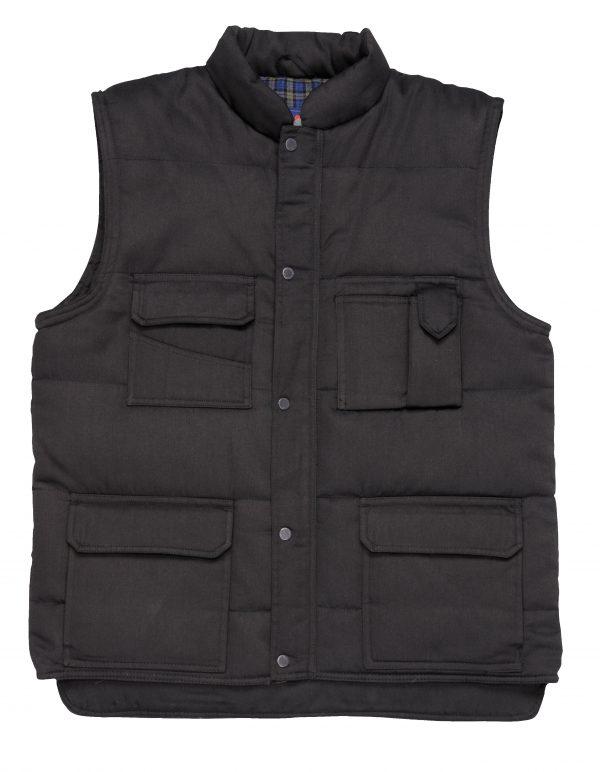 Portwest US414 Men's Shetland Winter Vest, Black