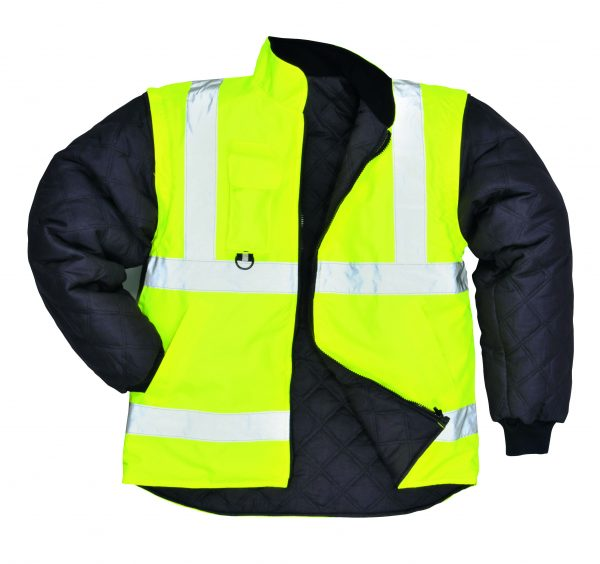Portwest US427 High Visibility 7-in-1 Traffic Jacket, 10