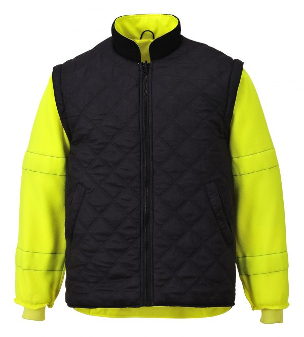 Portwest US427 High Visibility 7-in-1 Traffic Jacket, 13