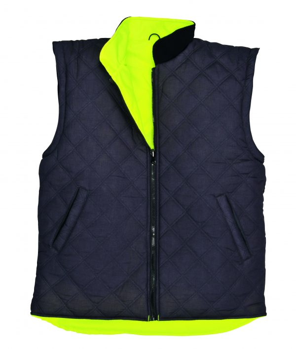 Portwest US427 High Visibility 7-in-1 Traffic Jacket, 14