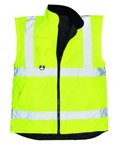 Portwest US427 High Visibility 7-in-1 Traffic Jacket, 15