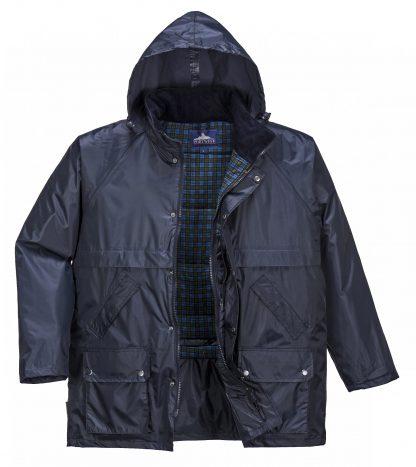 Portwest US430 Men's Stormbeater Winter Jacket, Front open