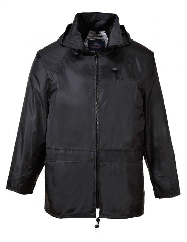 Portwest US440 Classic Rain Jacket, Black