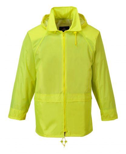 Portwest US440 Classic Rain Jacket, Yellow