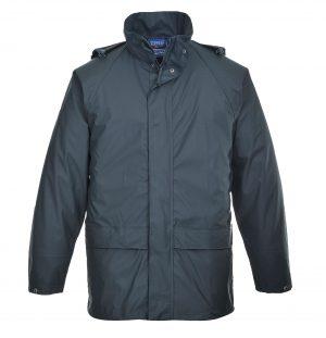 Portwest US450 Navy Waterproof Rain Jacket
