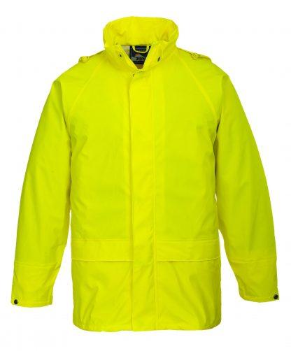 Portwest US450 Yellow Waterproof Rain Jacket