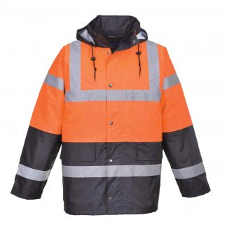 Portwest High Visibility Traffic Jacket, Orange 1