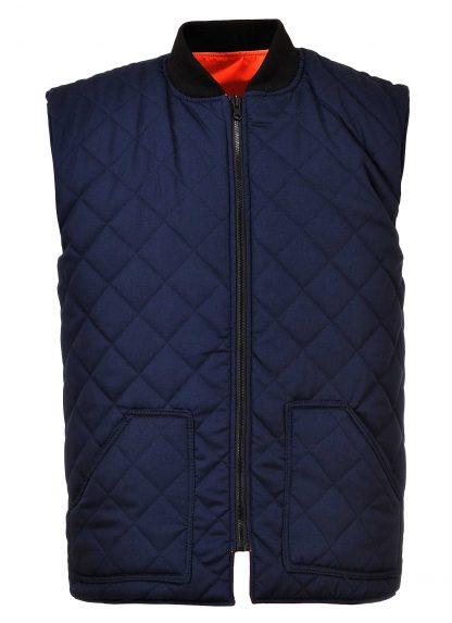 Portwest US469 High Visibility Insulated Vest, Reversible, Orange Reversed