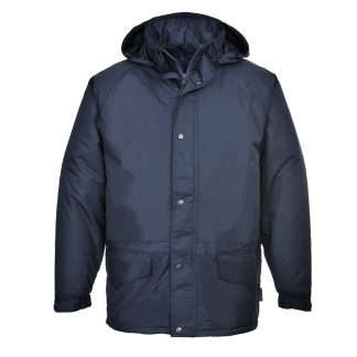 Portwest US530 Men's Arbroath Winter Jacket, Navy