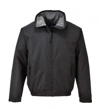 Portwest US537 Moray Insulated Bomber Jacket, Black