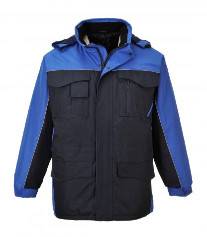 Portwest US562 Men's Ripstop Winter Jacket, Navy