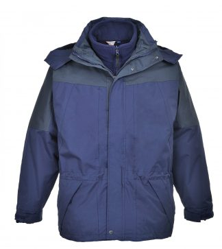 Portwest US570 Navy 3-in-1 Waterproof Jacket