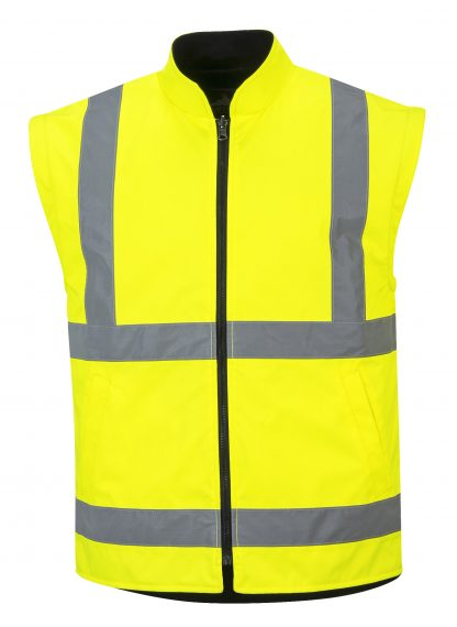 Portwest 5-in1 High Visibility Jacket, Yellow Vest