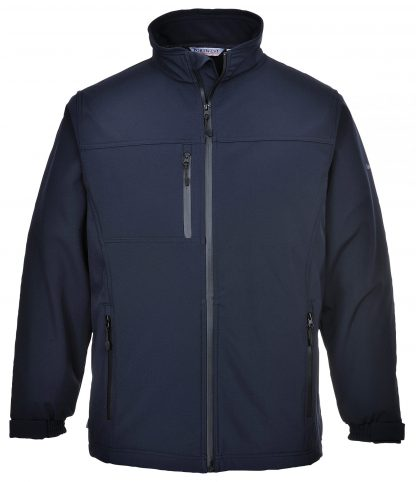 Portwest UTK50 Softshell Fleece Jacket, Navy
