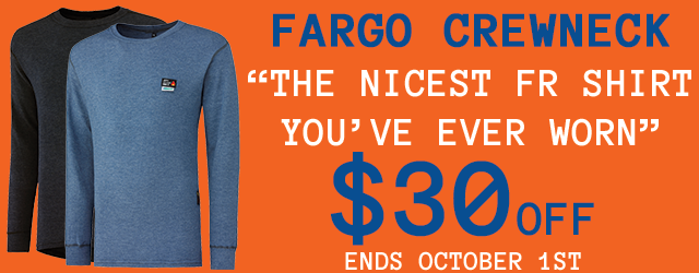 Helly Hansen Fargo FR Crewneck, $30 off