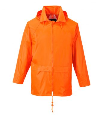 Portwest US440 Classic Rain Jacket, Orange