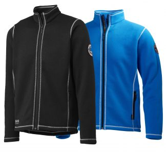 Hay River Fleece Jacket - Helly Hansen 72111, Available in Black and Racer Blue