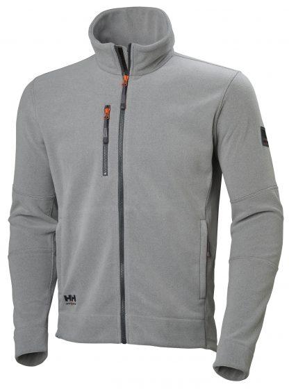 Kingston Fleece Jacket - Helly Hansen 72158, Gray, Front