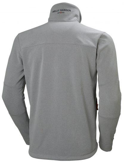 Kingston Fleece Jacket - Helly Hansen 72158, gray, back