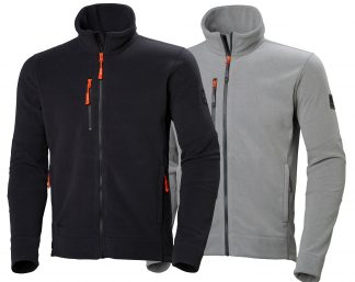Kingston Fleece Jacket - Helly Hansen 72158, Available Gray and Black