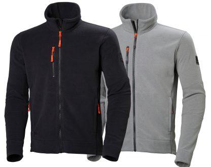 Kingston Fleece Jacket - Helly Hansen 72158, Available Gray and Black
