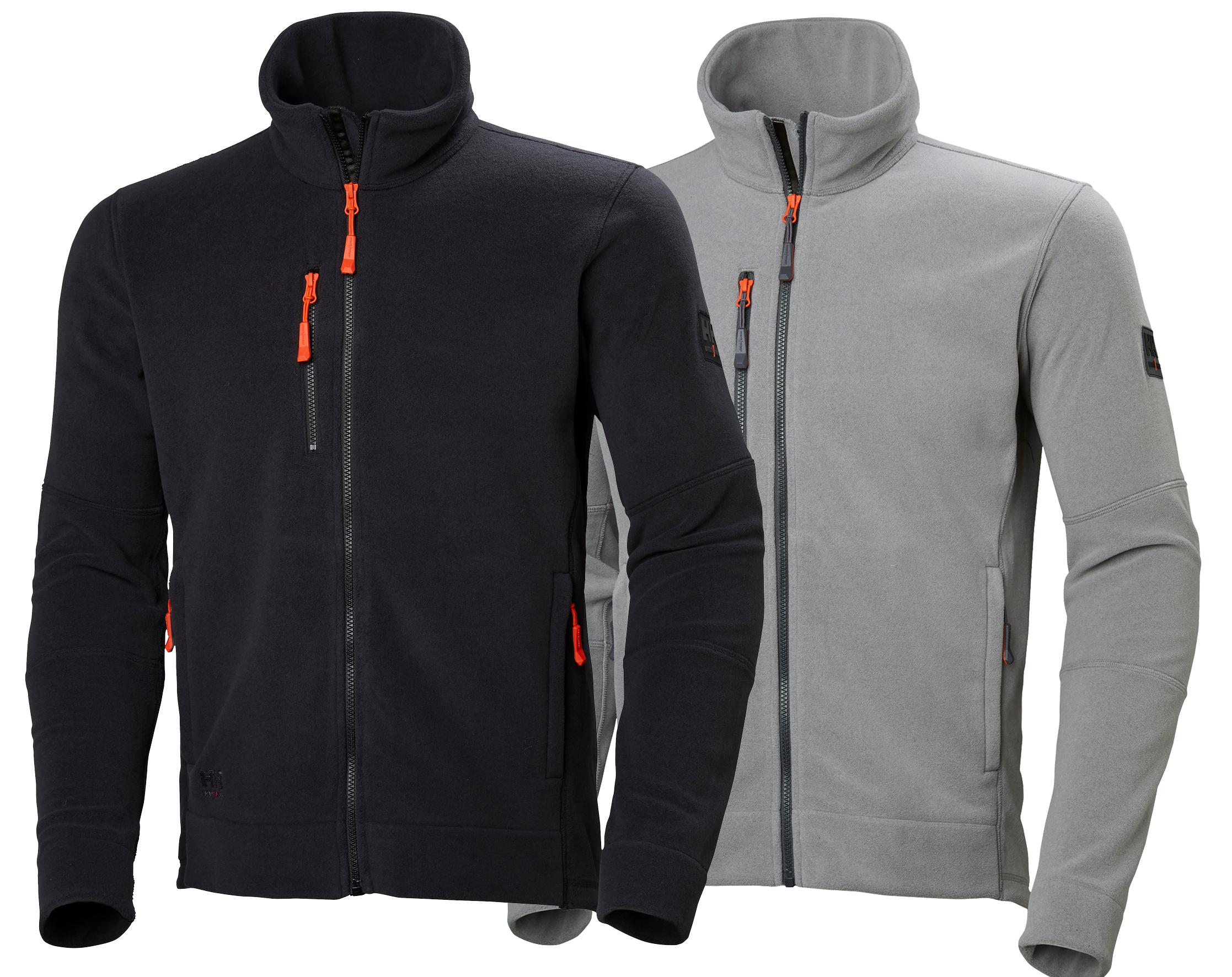 401f2c15 Kingston Fleece Jacket - Helly Hansen 72158, Available Gray and Black