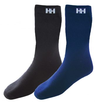 HW Boot Sock - Helly Hansen 72450, Available in black or navy