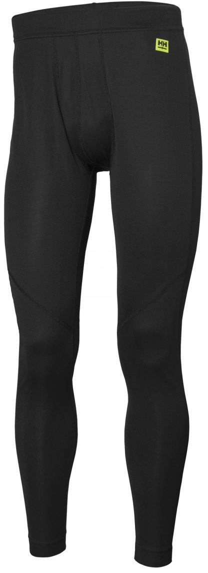 HH LIFA Long Johns - Helly Hansen 75505, black, front