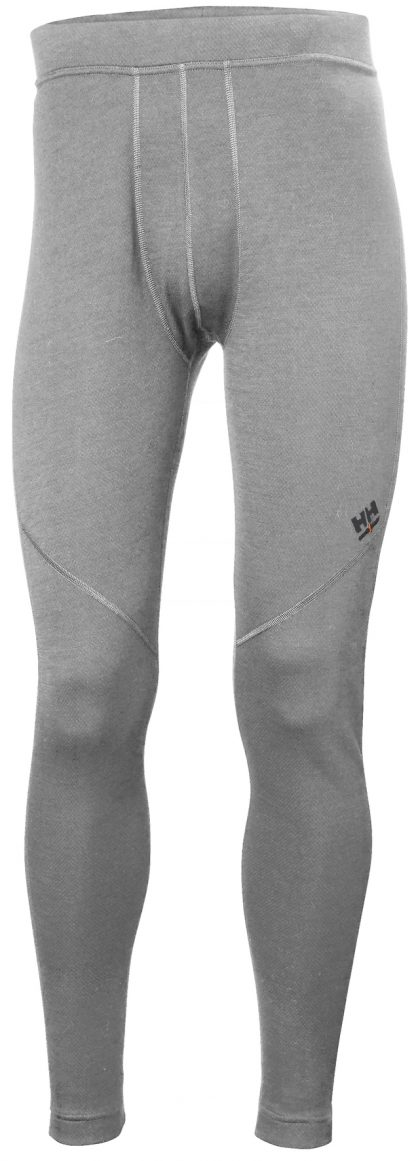 HH LIFA Merino Long Johns - Helly Hansen 75506, Gray