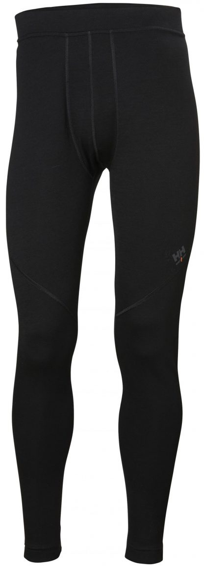 HH LIFA Merino Long Johns - Helly Hansen 75506, Black
