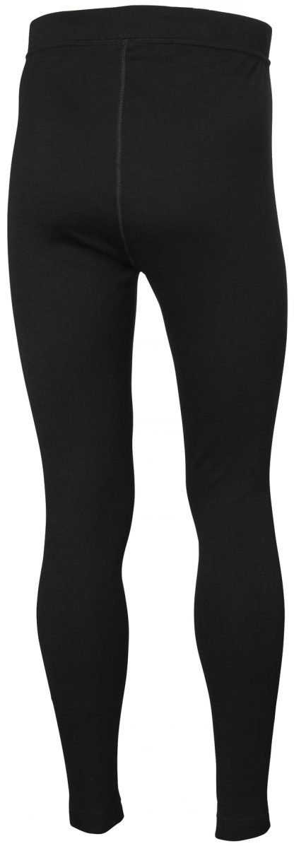 HH LIFA Merino Long Johns - Helly Hansen 75506, Black Back