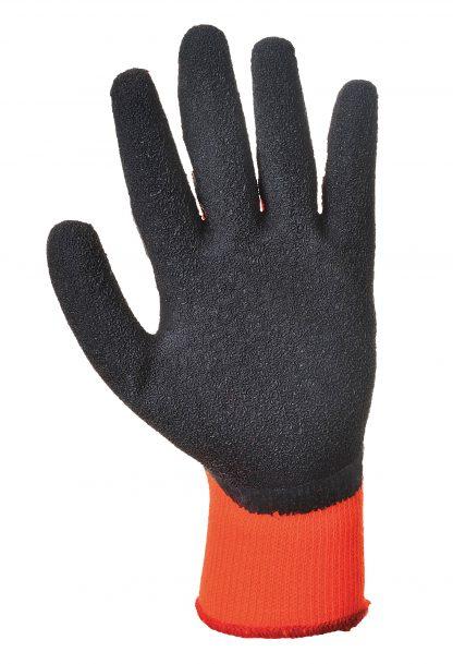 Insulated Grip Glove - Portwest A140, Orange, Latex Palm