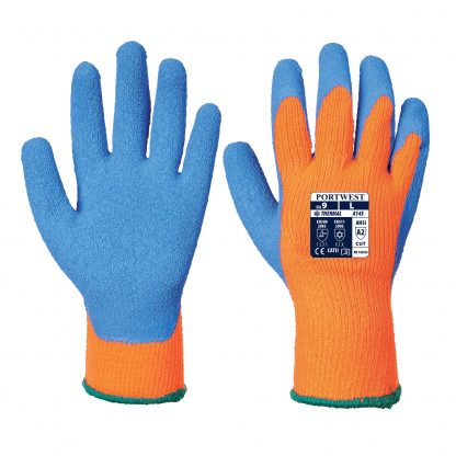 Portwest A145 Cold Grip Glove, Insulated, Front and back