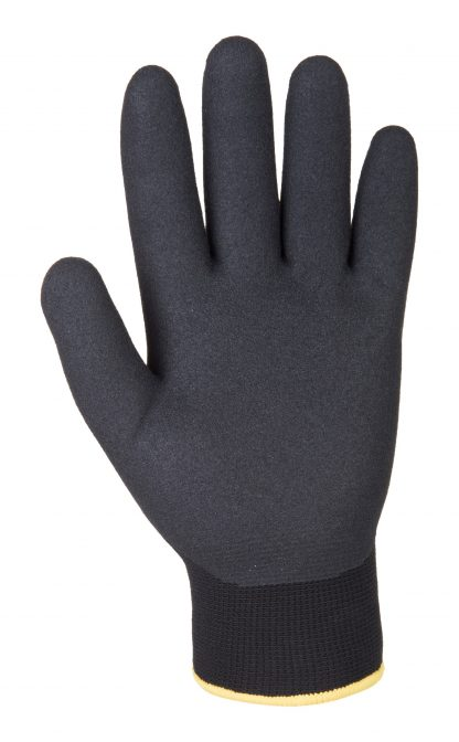 Insulated Grip Glove - Portwest A146 Arctic Winter, Sandy nitrile Palm