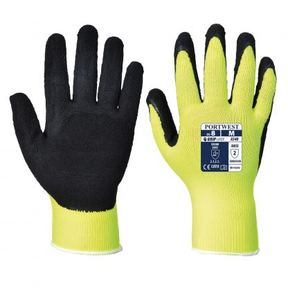 Grip Glove - Portwest A340 Long Cuff, ANSI Abrasion A2, Both