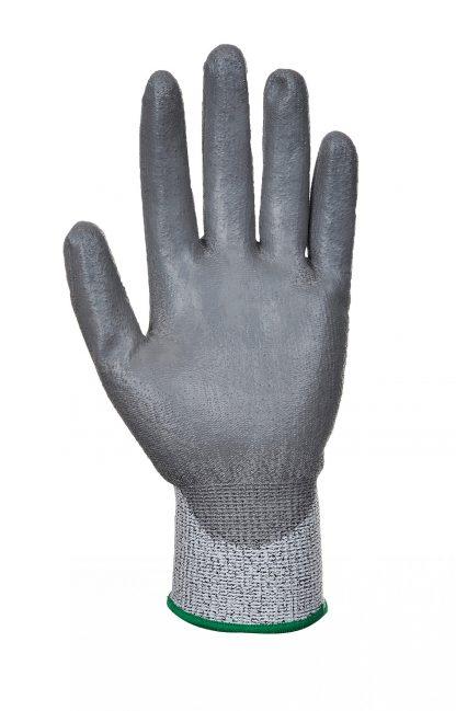 Cut Proof Grip Gloves - Portwest A622, Cut Level A3, Smooth PU Palm
