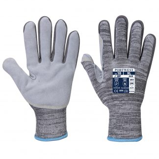 Cut Proof Gloves - Portwest A630 Razor, Cut Level A4, Front & Back