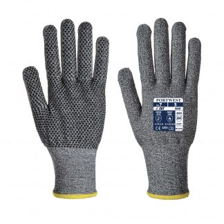 Cut Proof Gloves - Portwest A640 Sabre-Dot, Cut Level A4