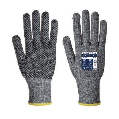 Cut Proof Gloves - Portwest A640 Sabre-Dot, Cut Level A4
