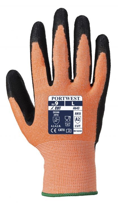 Cut Proof Gloves - Portwest A643, Cut Level 3, HDPE / Glass Fiber Shell