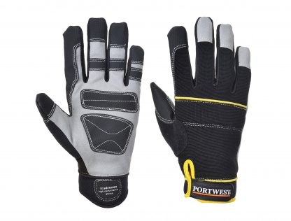 Portwest A710 Mechanic's Grip Glove, Black, main