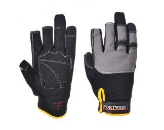 Portwest A740 PowerTool Pro Mechanic Glove, Black, main