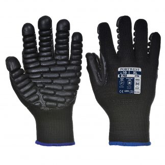 Portwest A790 Anti Vibration Glove, Black, main