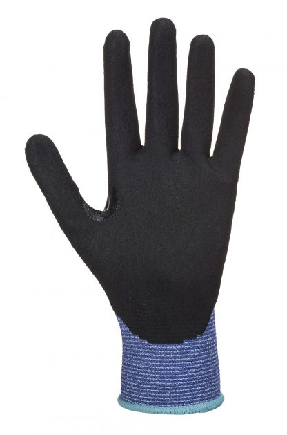 Cut Proof Gloves - Portwest AP25, Cut Level A3, Sandy Nitrile Palm