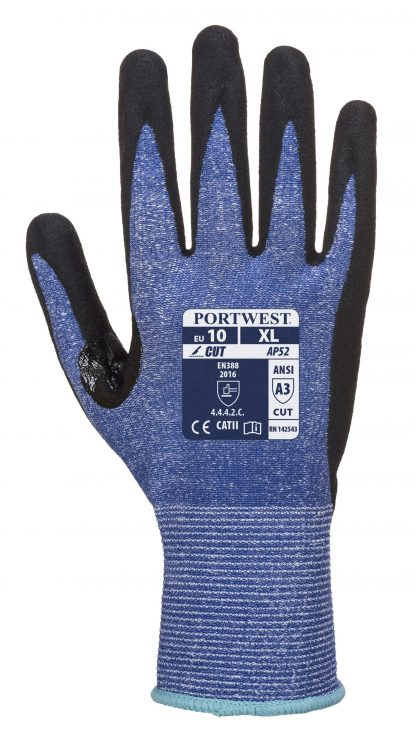 Cut Proof Gloves - Portwest AP25, Cut Level A3, HPPE Shell